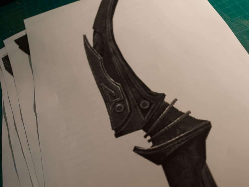 Black Dwarven Bow of Fate Build – Folkenstal Armory | Props
