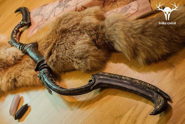 Dwarven Bow Replica Skyrim