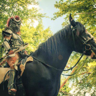Khajiit with Horse