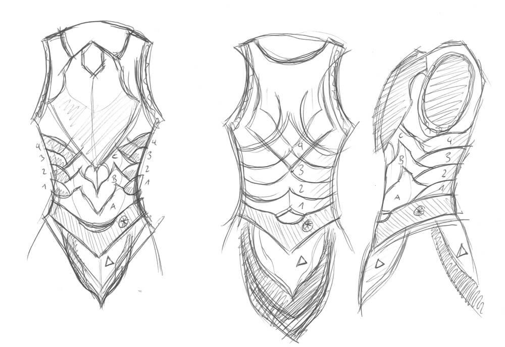 Ebony Armor Build Folkenstal Armory Props And Replicas