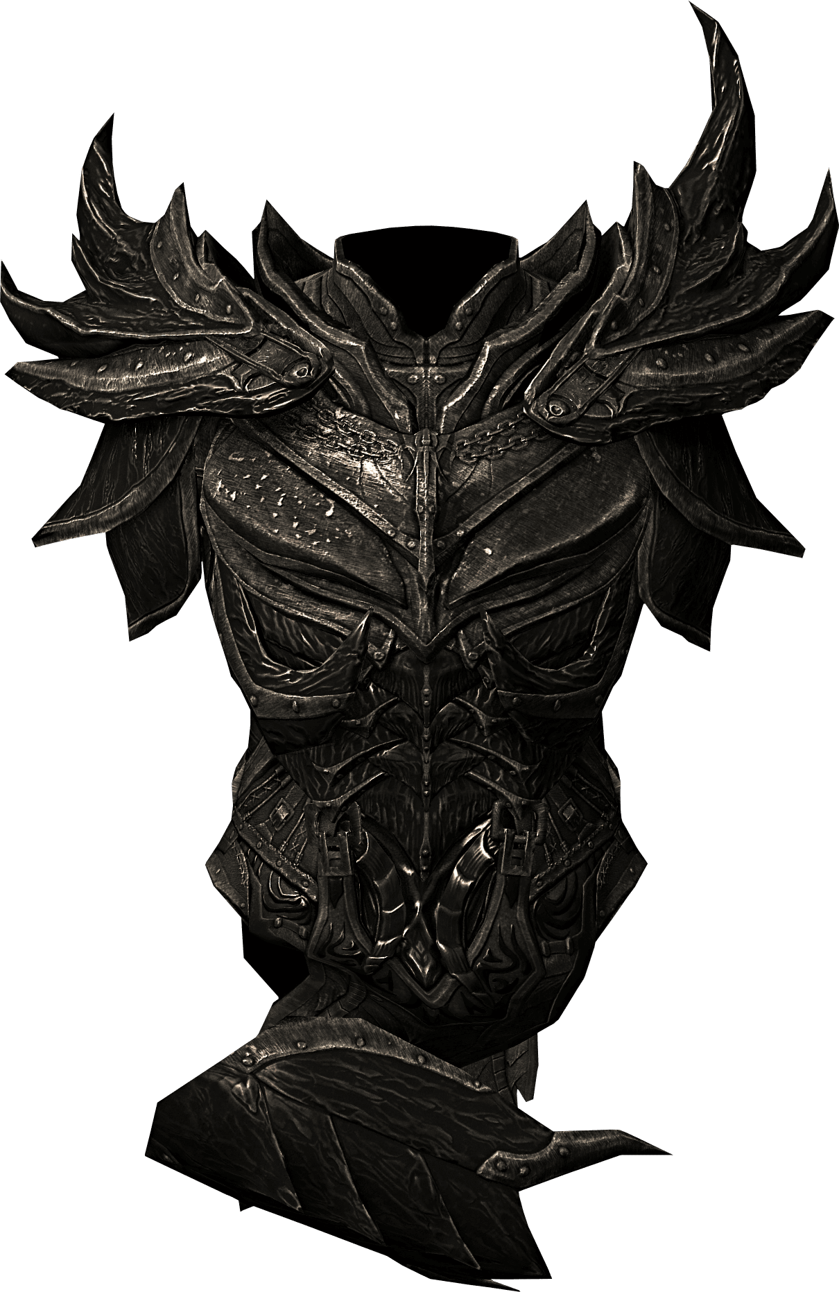 Daedric Armor Build Skyrim Folkenstal Armory Props