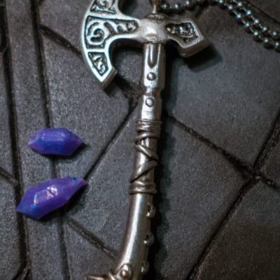Skyrim Steel Axe Jewerly