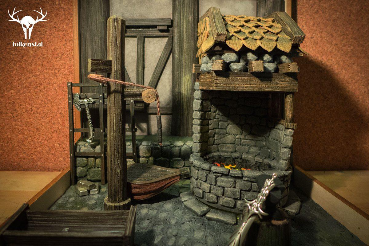 Skyrim Miniatures Folkenstal Armory Props And Replicas