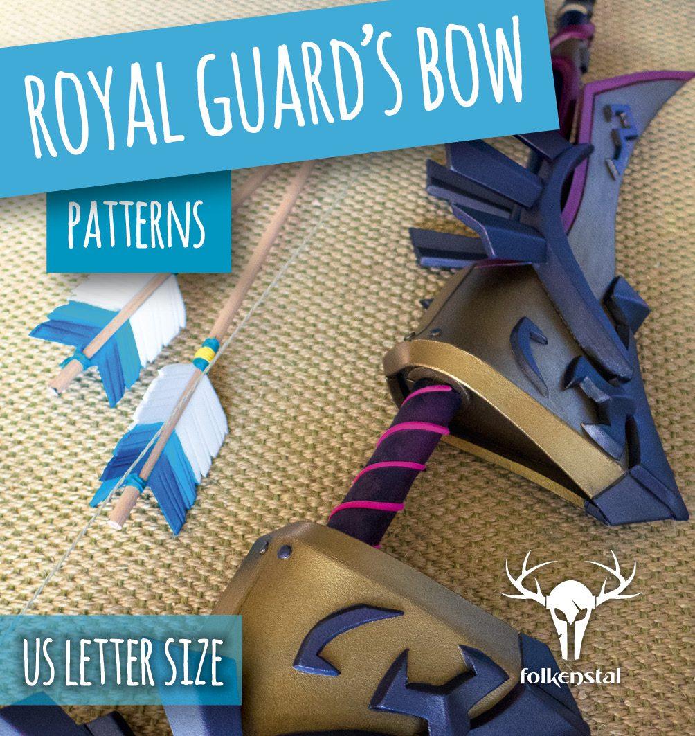 royal guard u2019s bow patterns  u2013 pdf us letter size