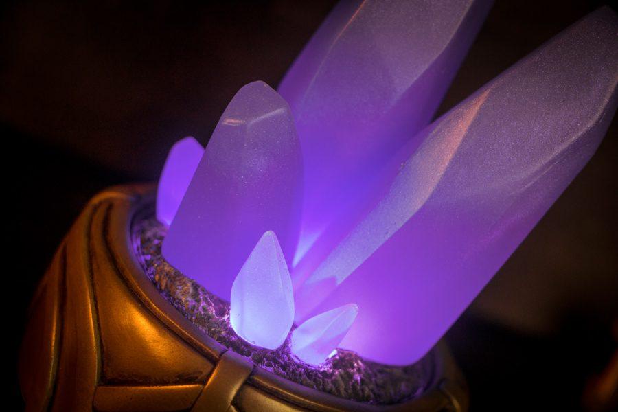 purple crystal garden - Crystal Garden