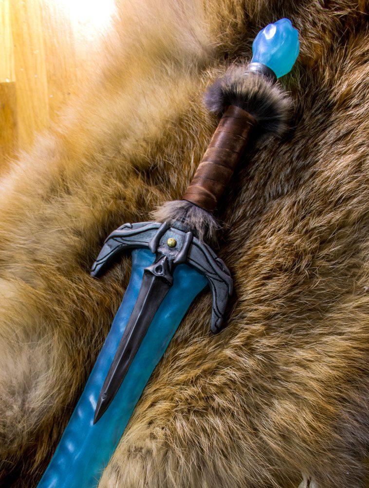 Khajiit Style Dagger Elder Scrolls Resin Cast Prop